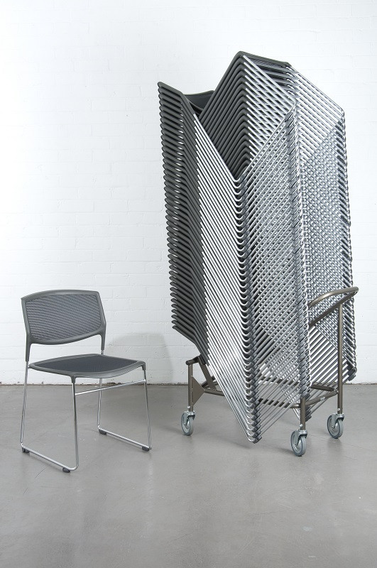DAYLIGHT TECS STACKING CHAIR
