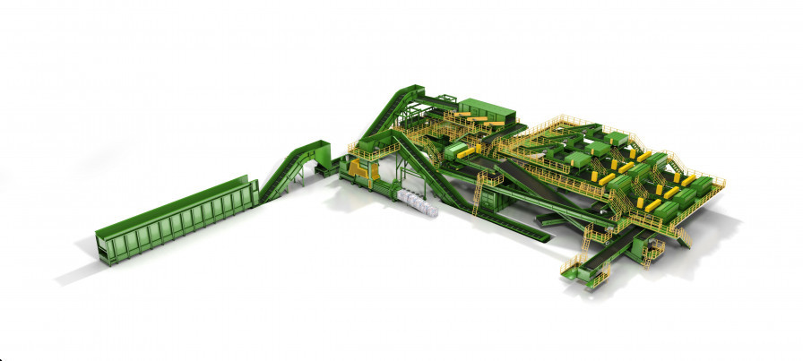 De-Inking Waste Recycling