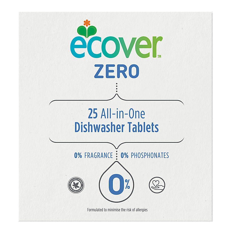 Dishwasher Tablets All in One ZERO (25 tablets)