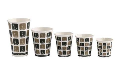 Dispo Mocha Paper Cups