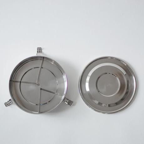 Divided Stainless Steel Container