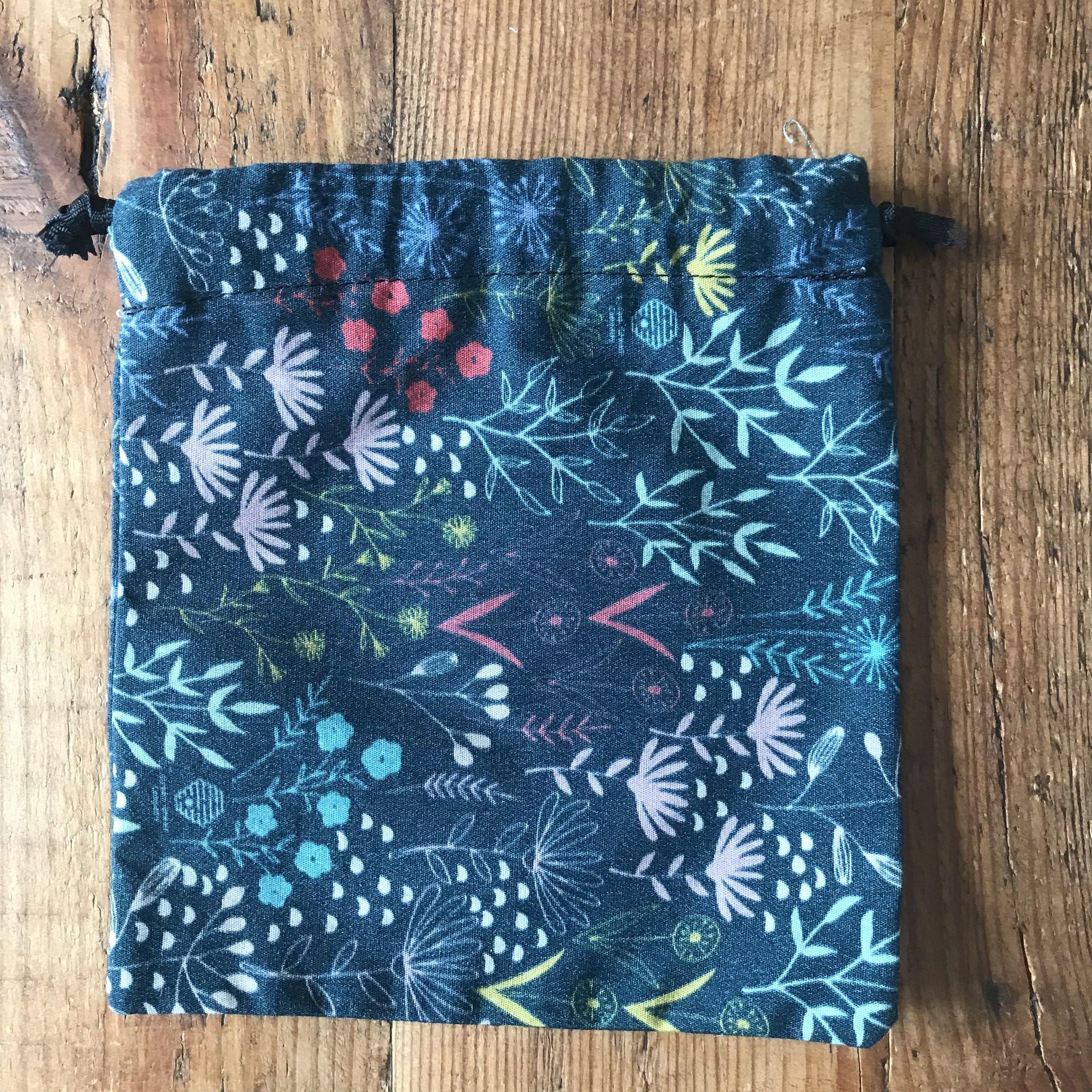 Draw String Bag- Flowers