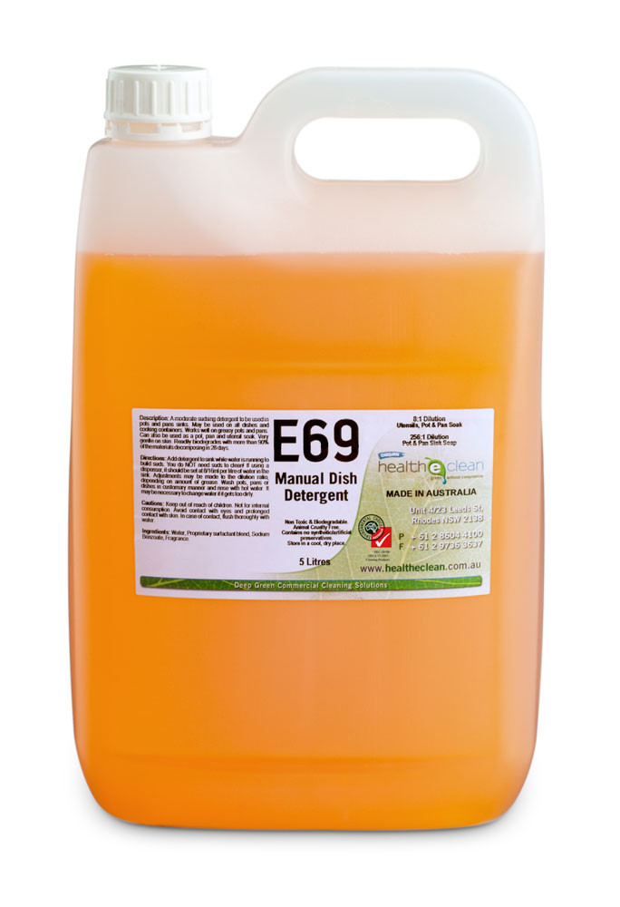 E69 MANUAL DISHWASHING DETERGENT