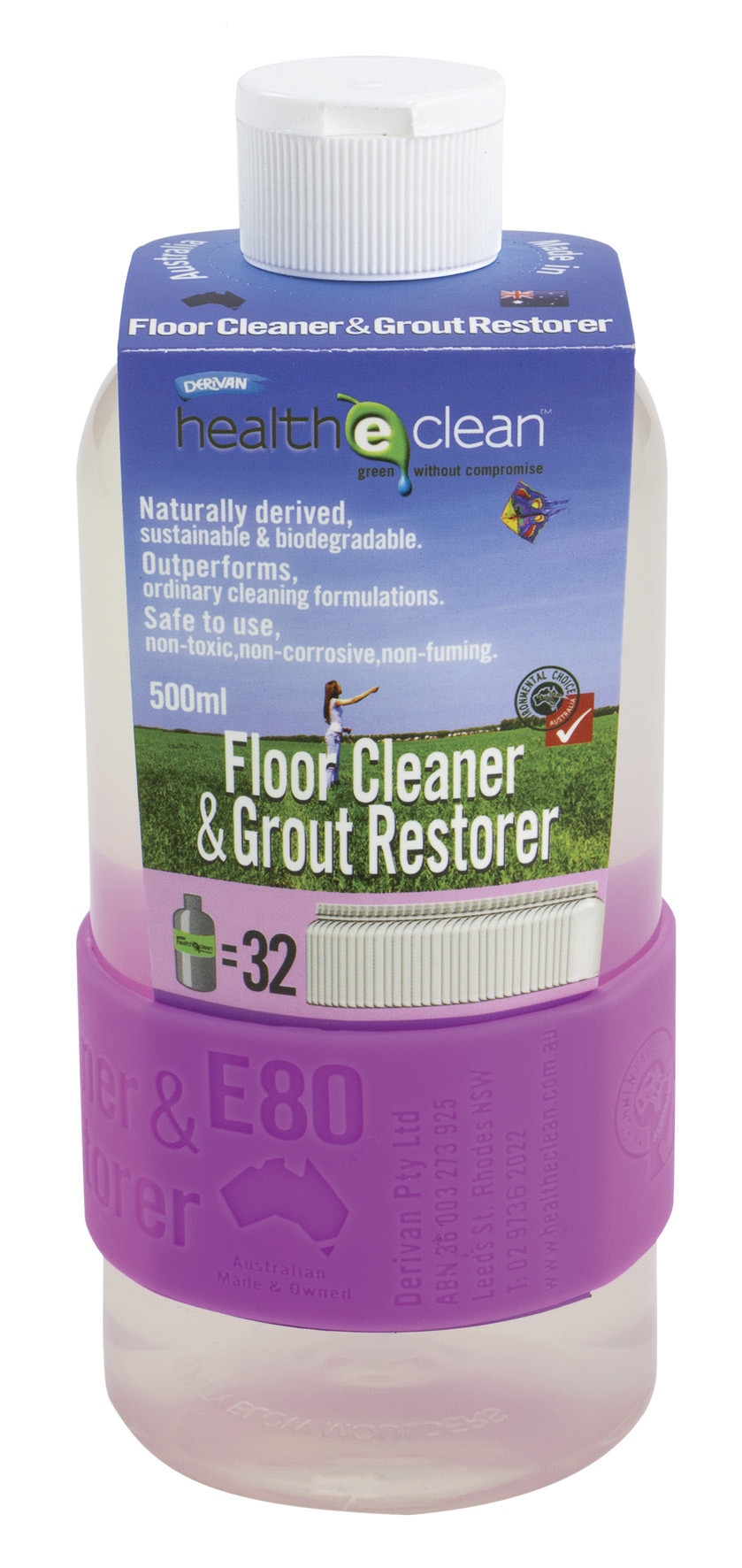 E80 FLOOR CLEANER AND GROUT RESTORER