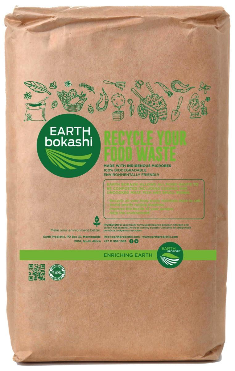 Earth Bokashi Food Waste Recycling