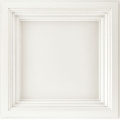 "EASY ELEGANCE Deep Coffer White 24"" x 24"""