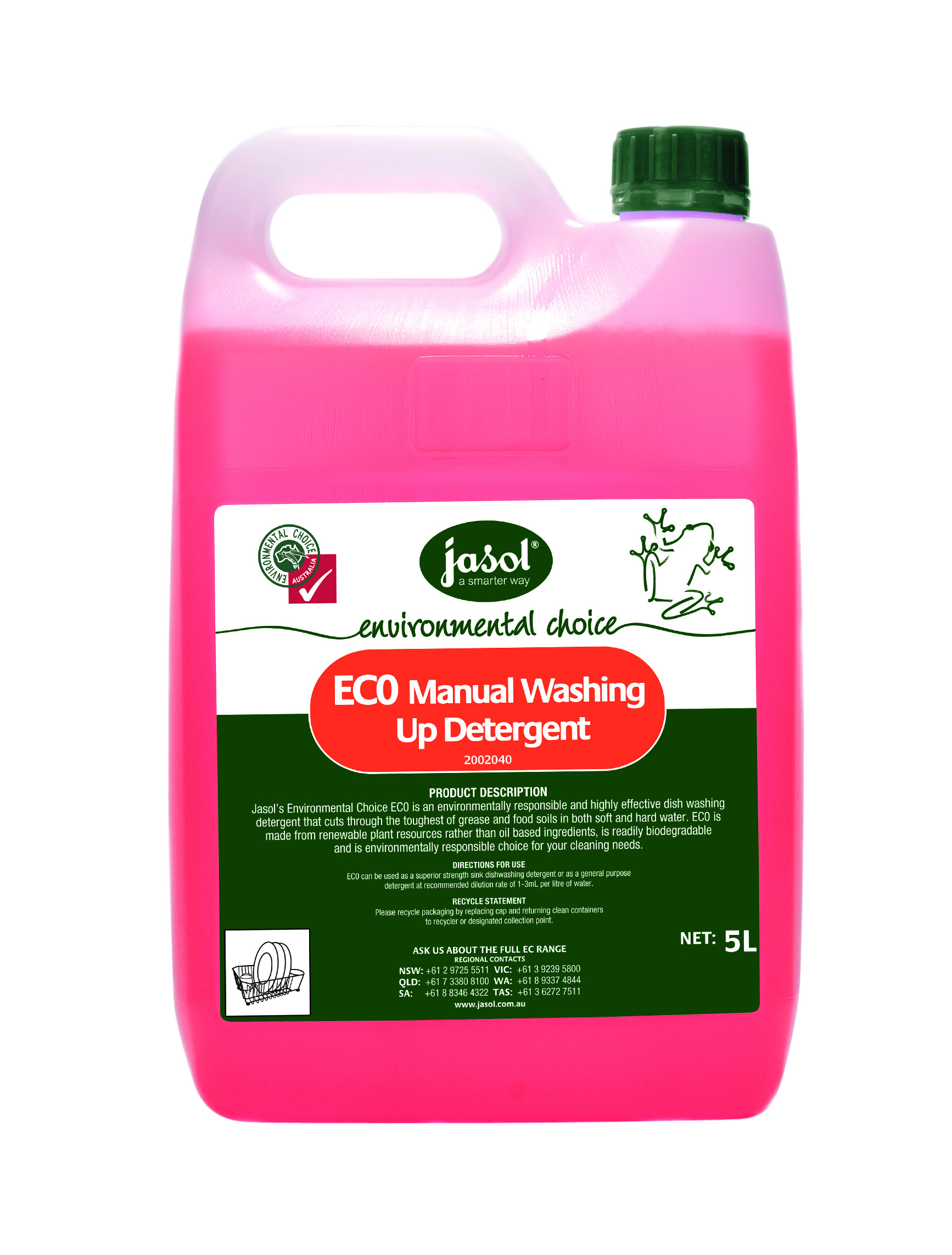 EC0 MANUAL WASHING UP DETERGENT