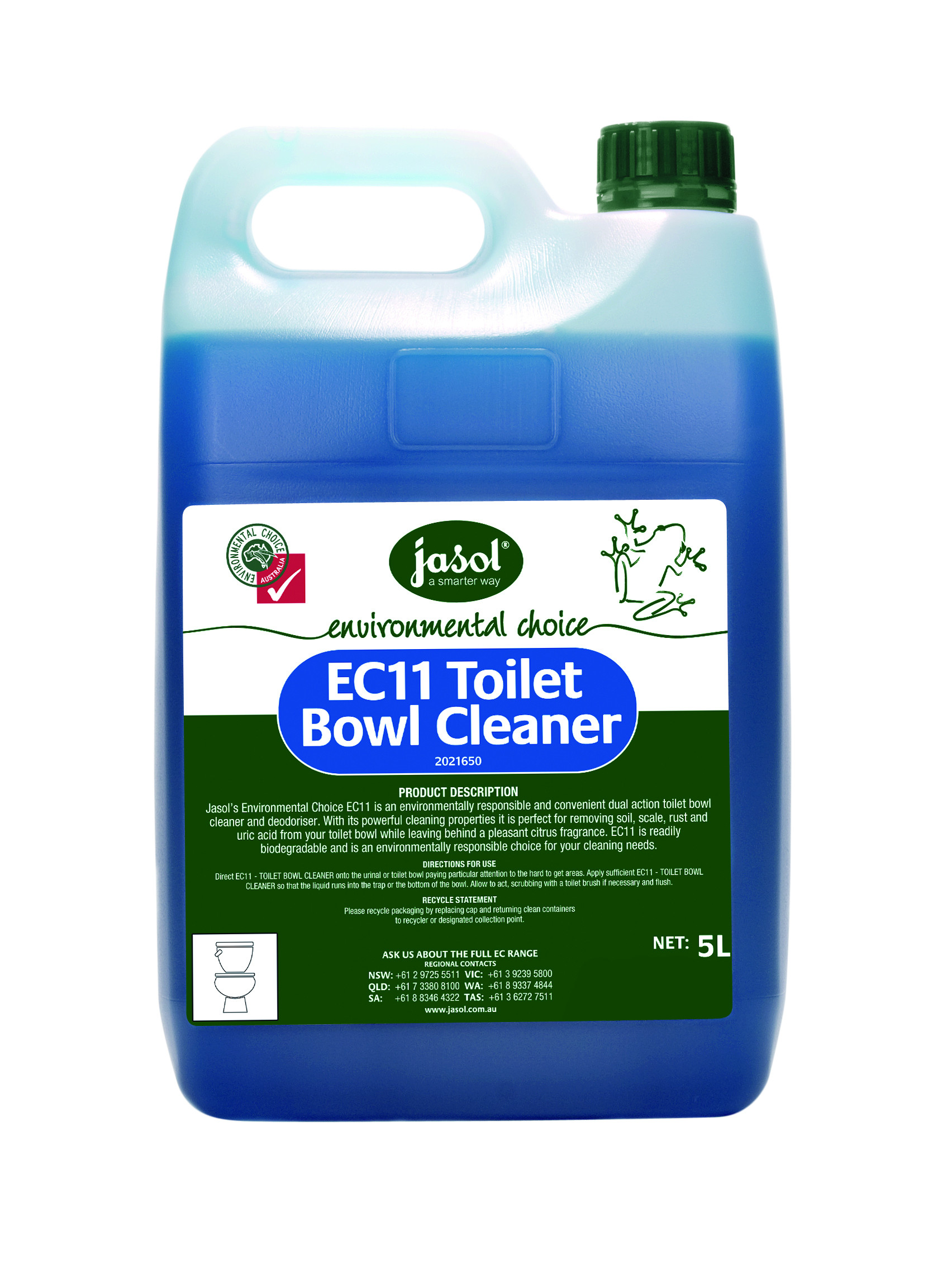 EC11 TOILET BOWL CLEANER