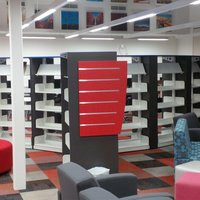 ECLIPSE LIBRARY SHELVING