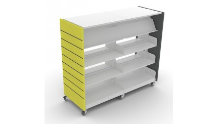 ECLIPSE MOBILE SHELVING