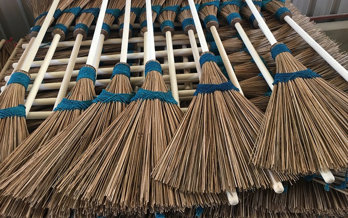 Eco Broom A Coir Production by Colombo Quality Products