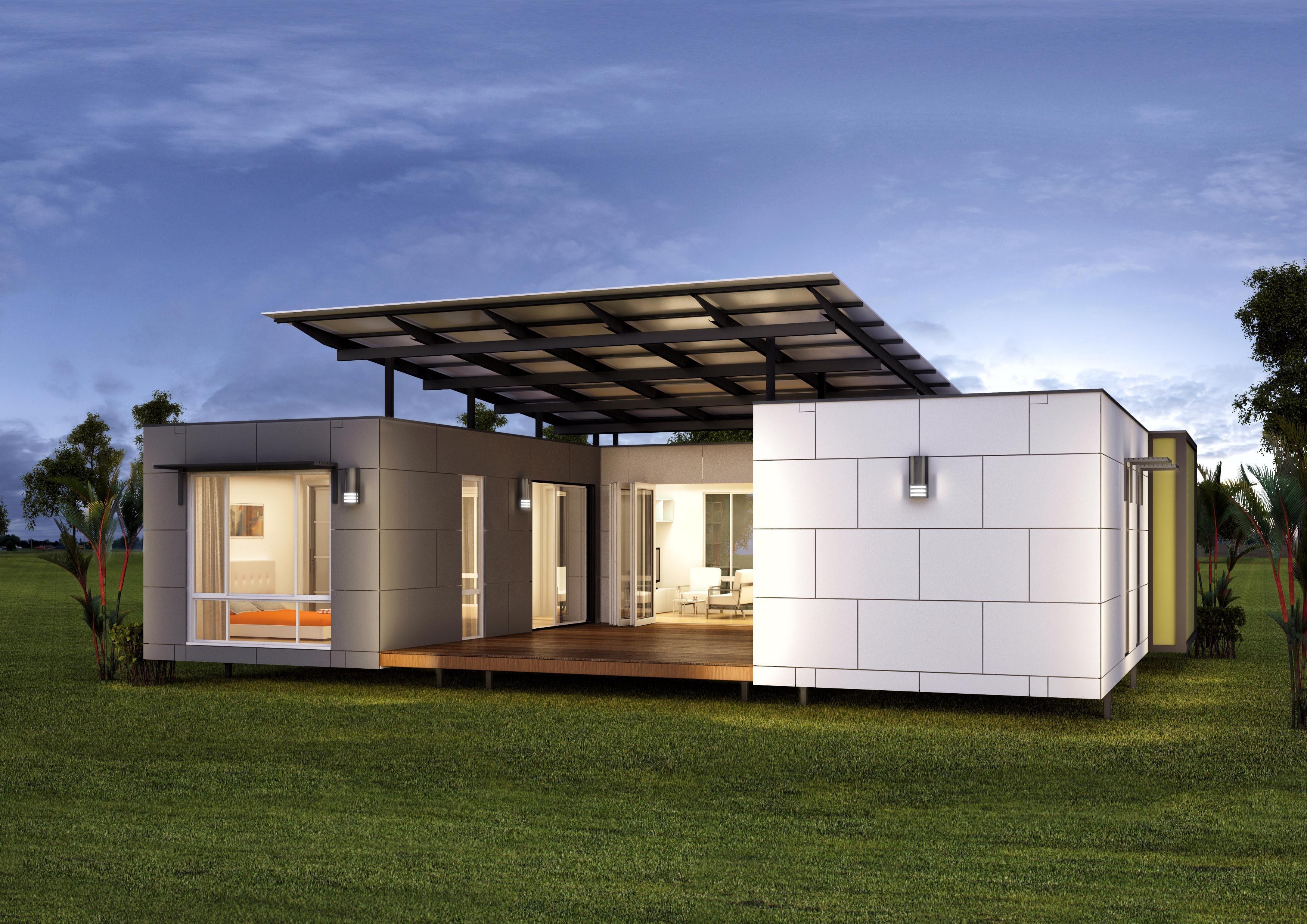 Eco-friendly Hybrid Homes