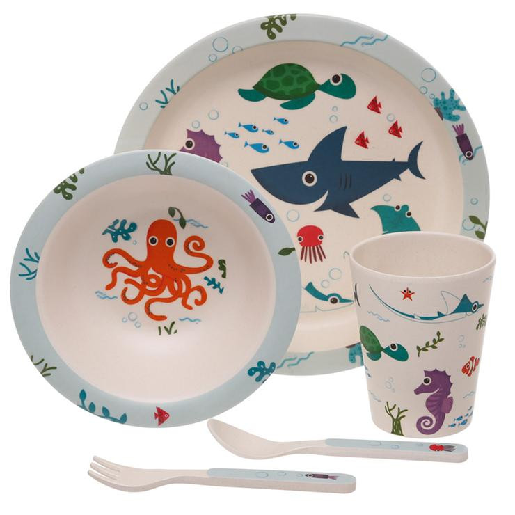 Eco Friendly Kids Dinner Set