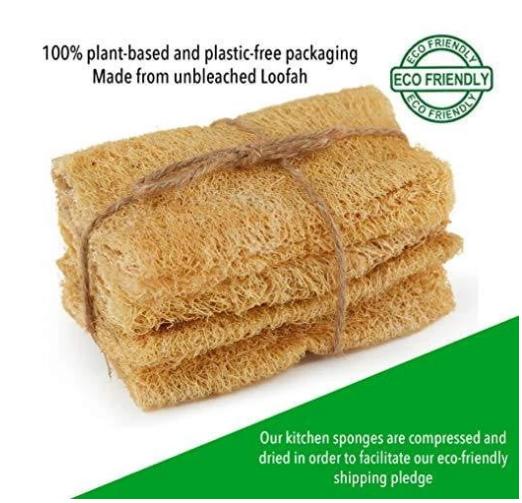 Eco-Friendly Kitchen Sponge