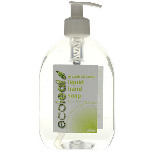 Eco-Friendly Liquid Hand Soap, refreshing natural grapefruit scent
