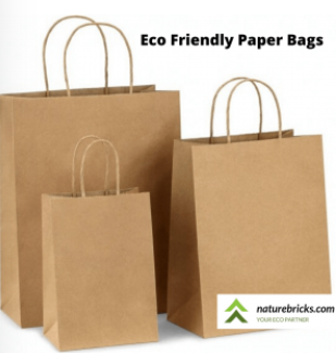 Eco Friendly Paper Bags Different Sizes