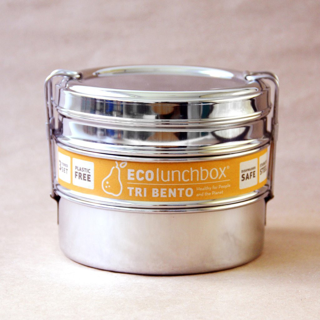 ECOlunchbox Tri Bento