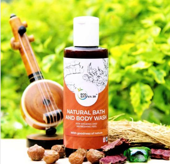 EcoSattva 3R – Natural Bath & Body Wash