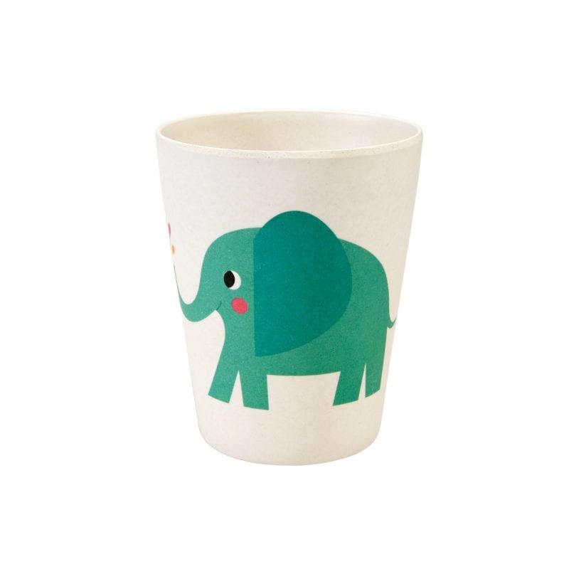 'Elvis The Elephant' Bamboo Beaker