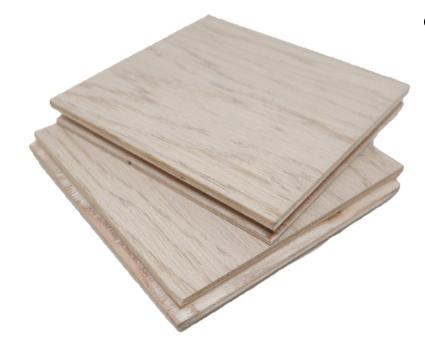 Engineered Timber - Series E2 – European & American White Oak (Oak Snow Wash)