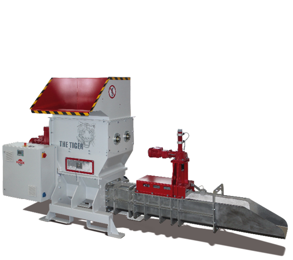 EPS Polystyrene Recycling - QCR Tiger EPS Compactors
