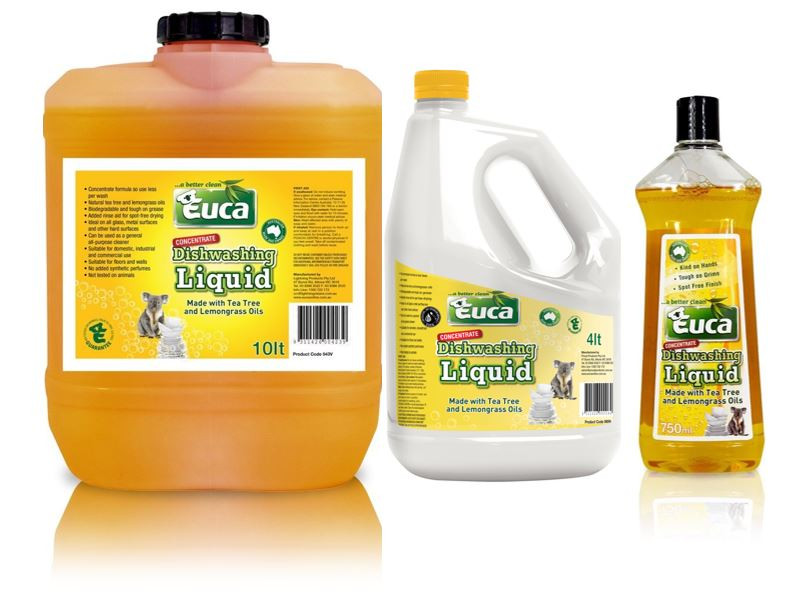 Euca Concentrated Dishwashing Liquid