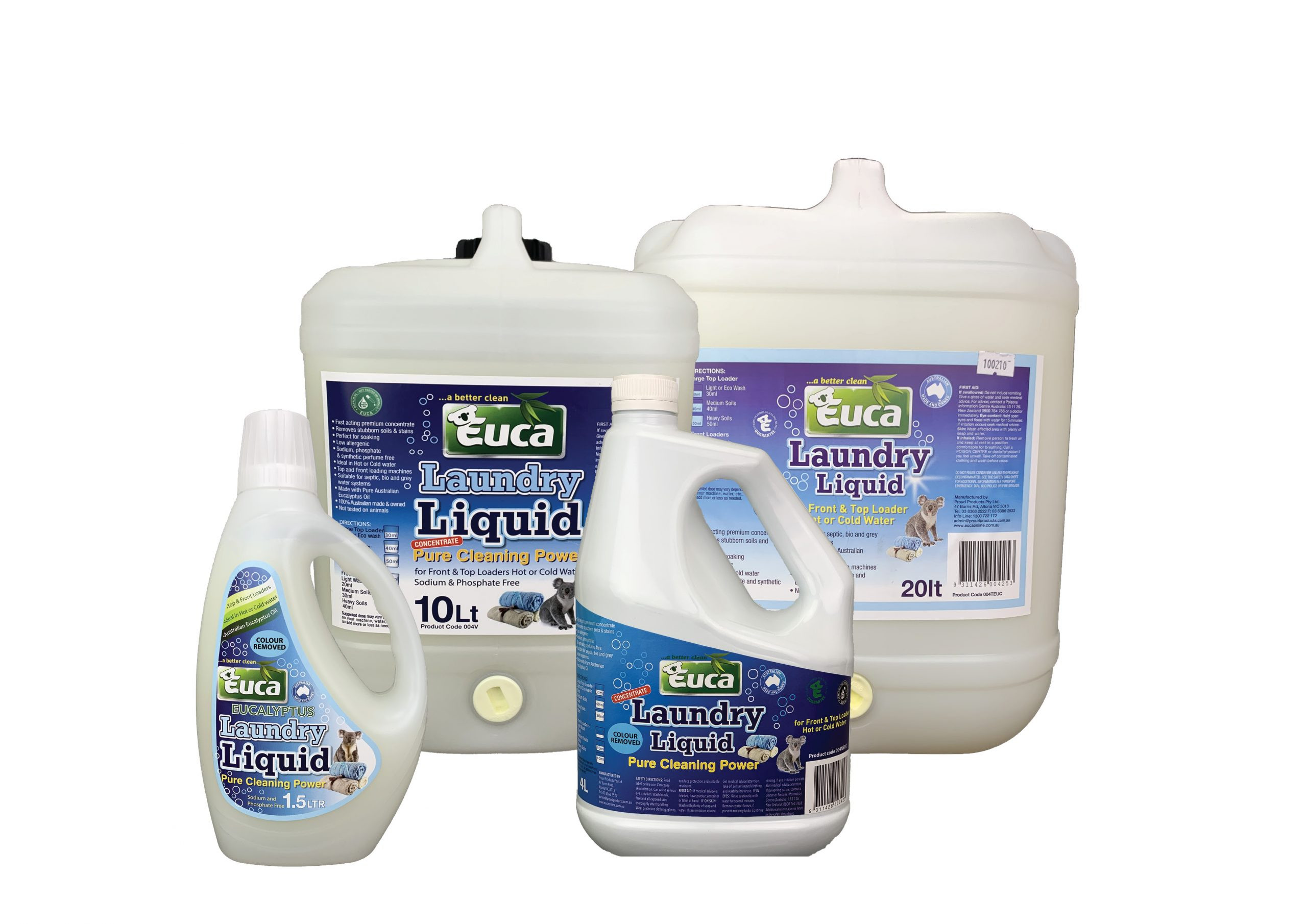 Euca Concentrated Laundry Liquid