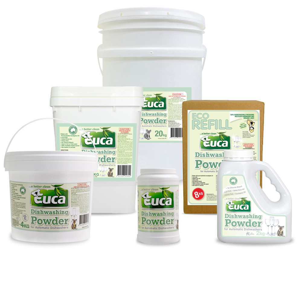 Euca Eucalyptus Dish Washing powder concentrate
