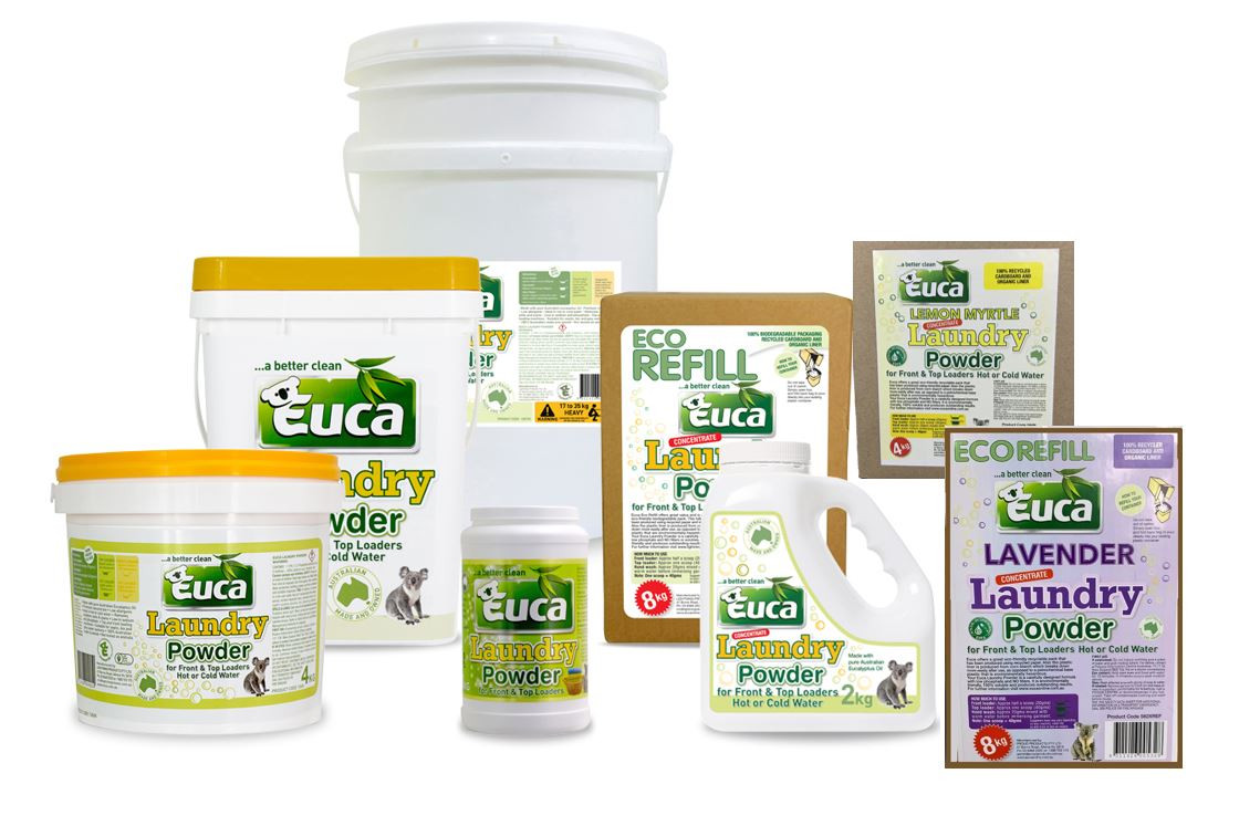 Euca Premium Laundry Powder Concentrate Detergent