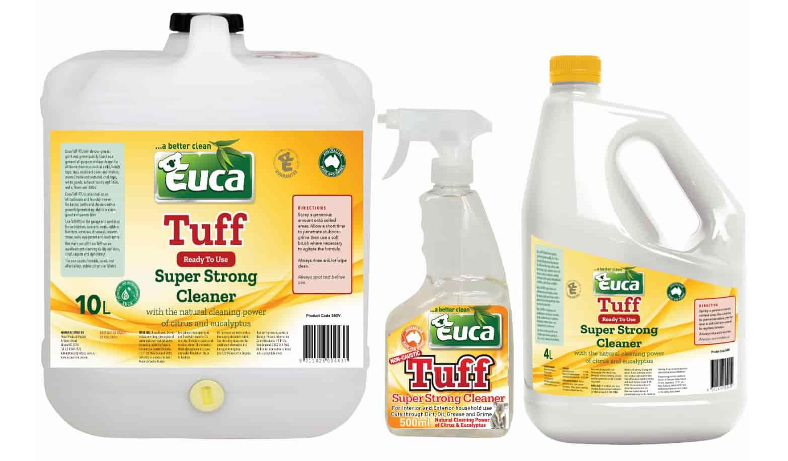 Euca Tuff – A Powerful Multipurpose Cleaner