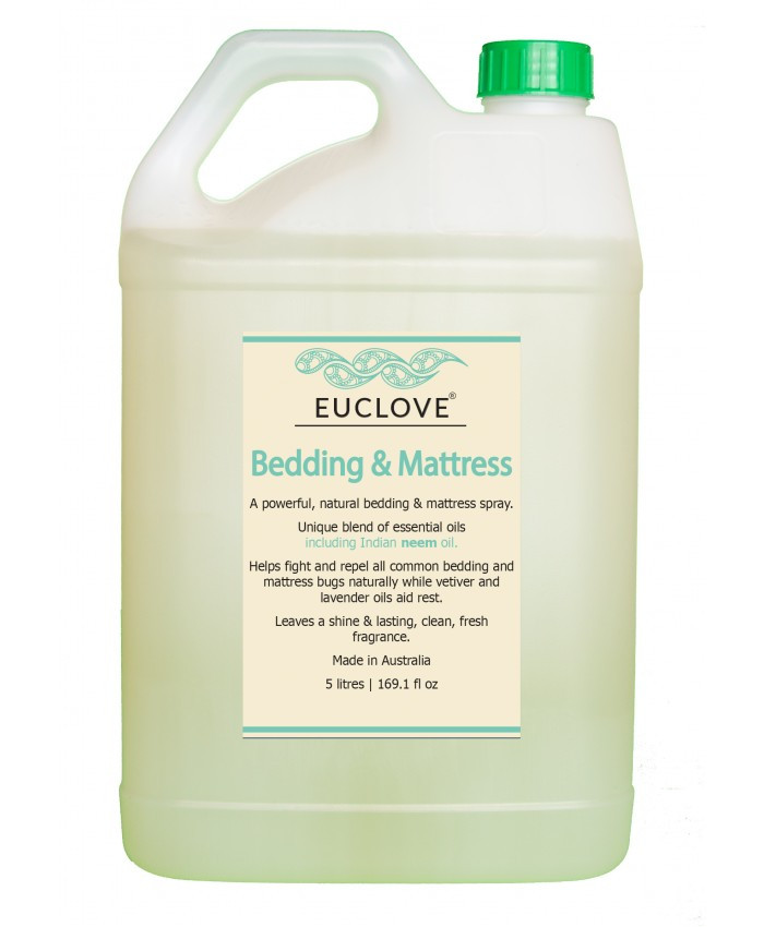 Euclove Bedding & Mattress Spray 5 litre Refill