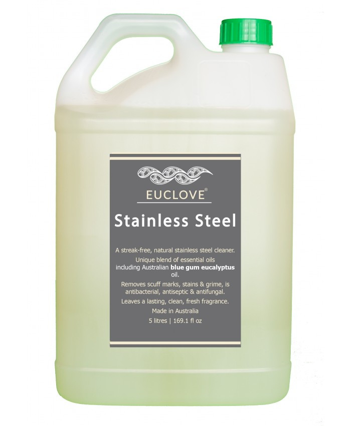 Euclove Stainless Steel Cleaner 5 Litre Refill