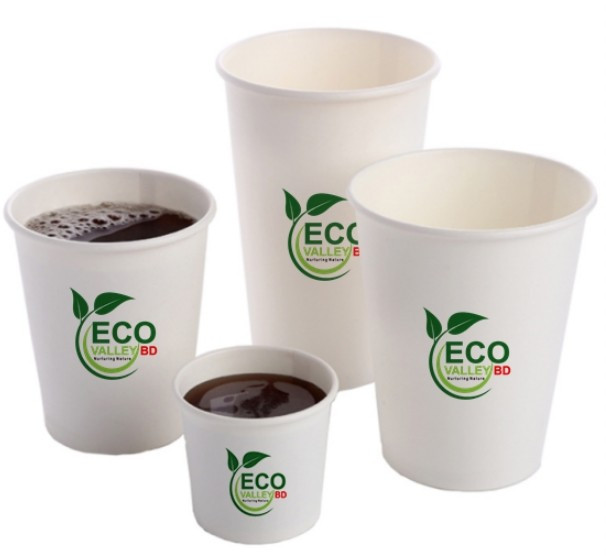 EV-Bagasse Tea Cups