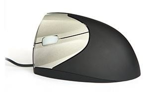 EZ VERTICAL MOUSE BY MINICUTE – LEFT HAND – WIRED