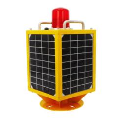 FAA lights self charging solar