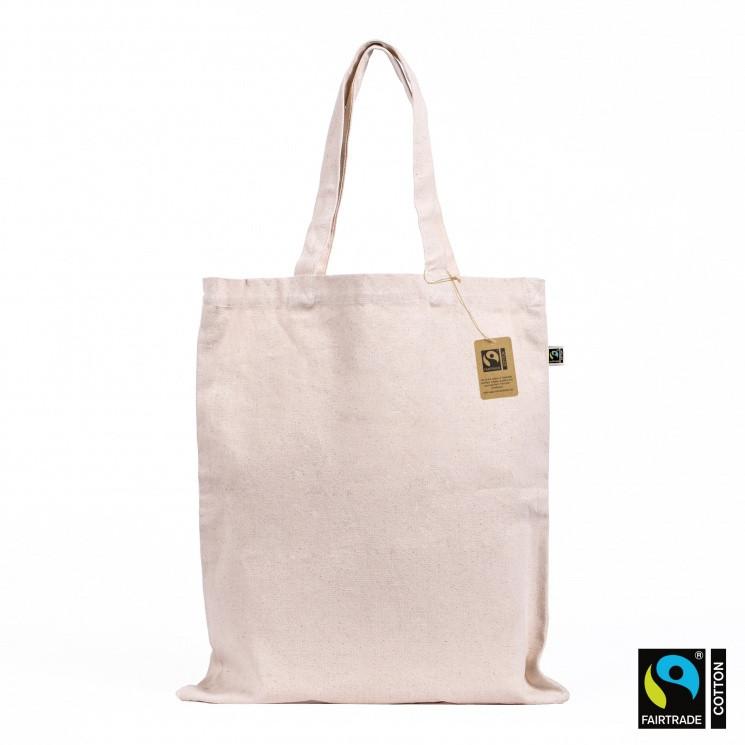 Fairtrade & Organic Canvas Tote Bag