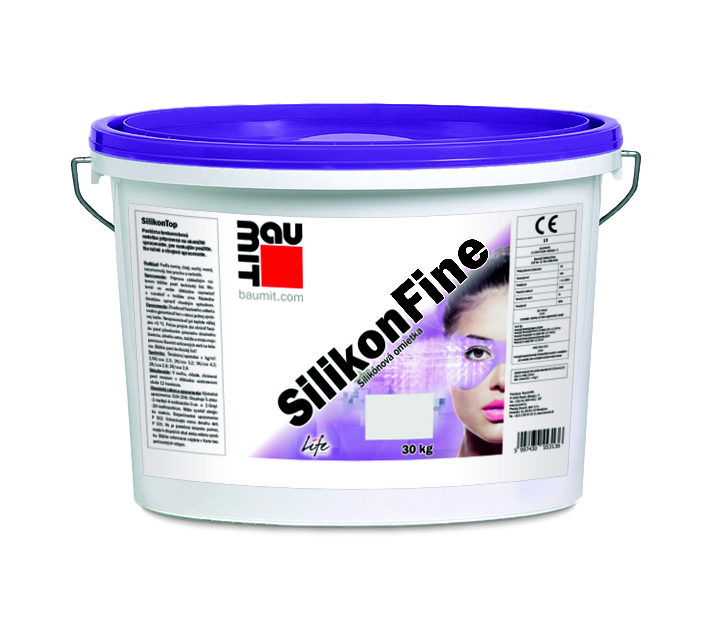 Fine Silicone Render – Baumit SilikonFine Finish Render