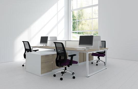 Flo, Frame & Edge Desking System