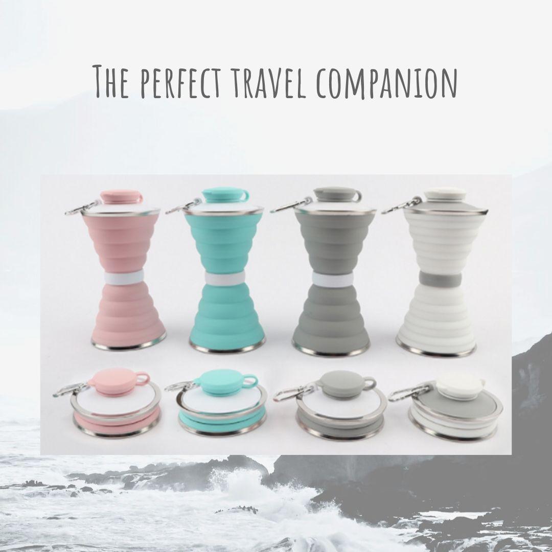 Foldable Silicone Travel Bottle