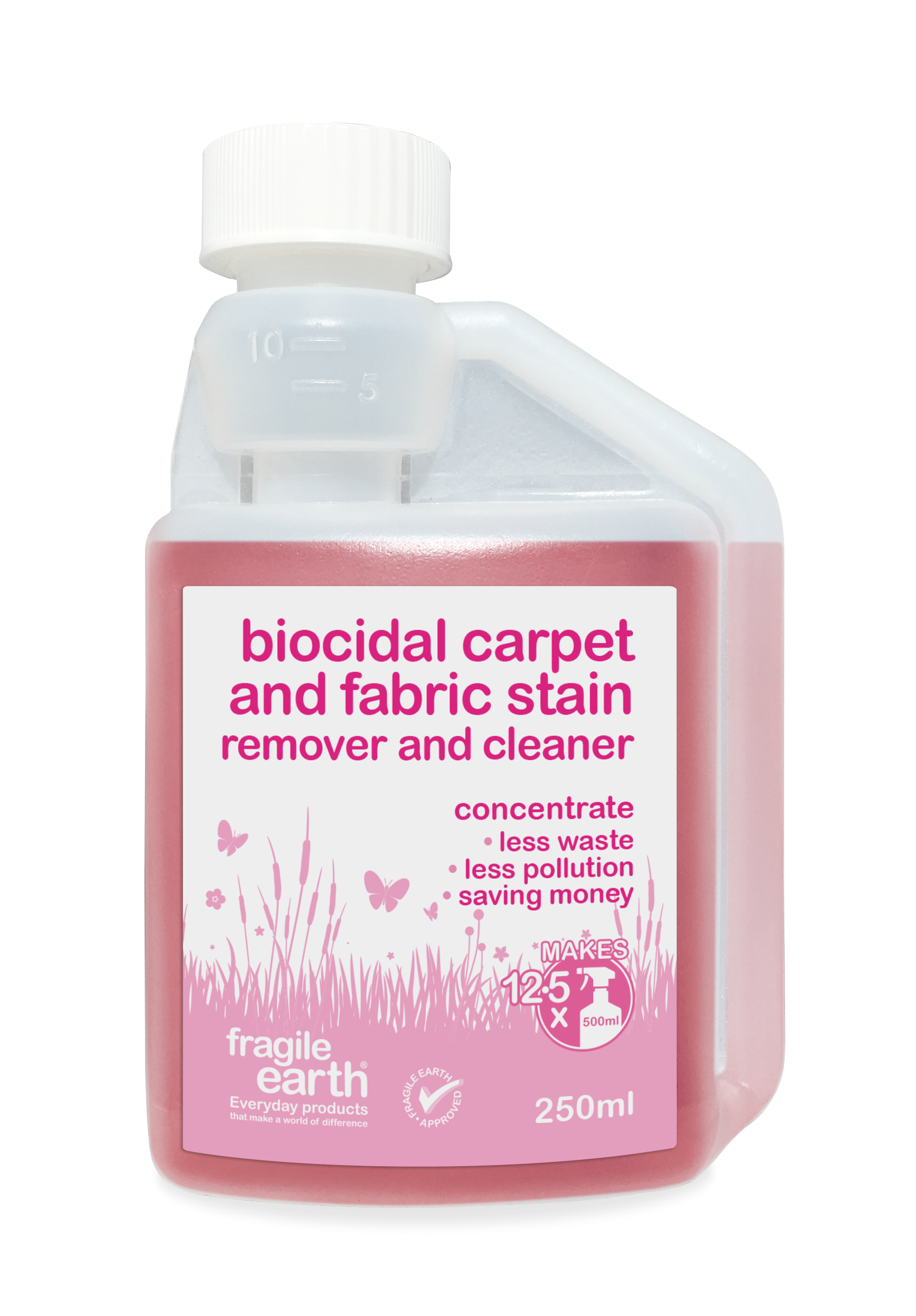 Fragile Earth Biocidal Carpet And Fabric Stain Remover And Cleaner