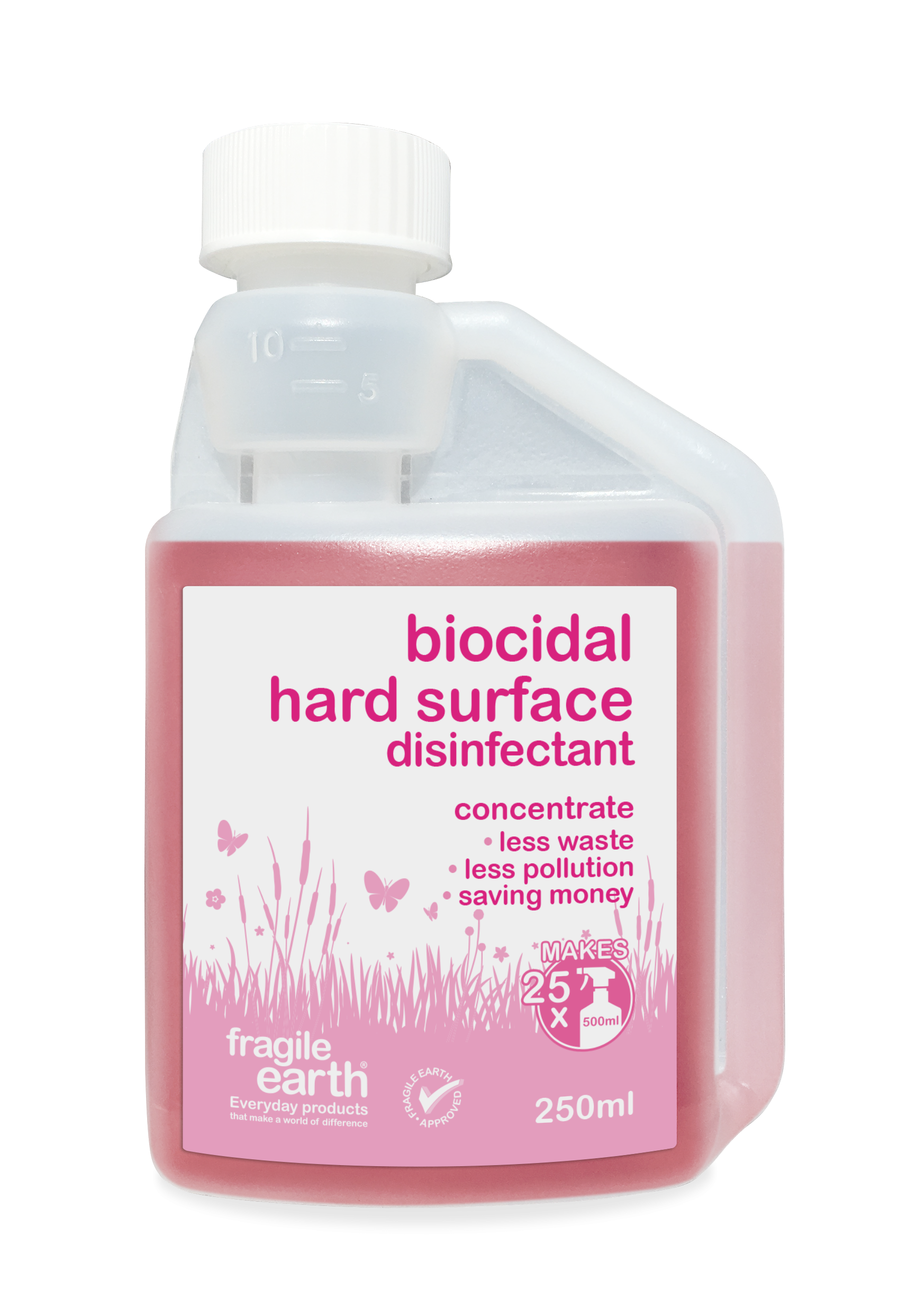 Fragile Earth Biocidal Hard Surface Disinfectant