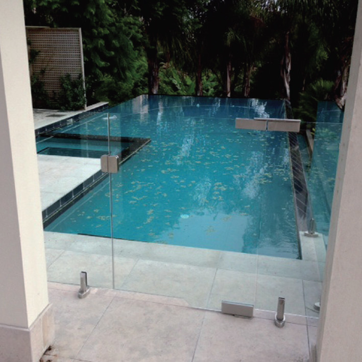 Frameless Glass swimming Pool Gates