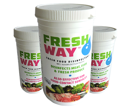 FRESHWAY Food Safe Vegetable and Fruit Disinfectan