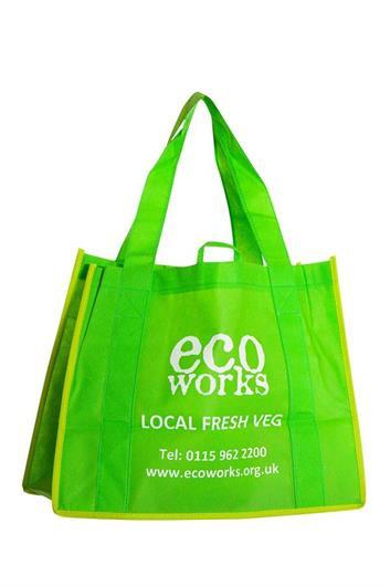 Fruit & Veg Shopping Carrier Bag