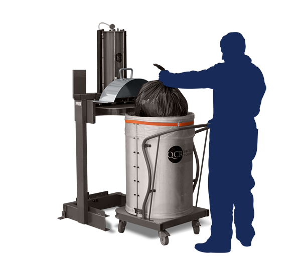 General Waste Recycling - QCR XP100 and XP200 Bag Compactors