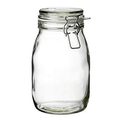 GLASS STORAGE JARS – 1.8L