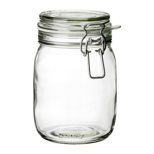 GLASS STORAGE JARS – 1L