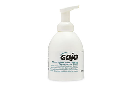 GOJO Mild Foam Fragrance Free Hand Wash