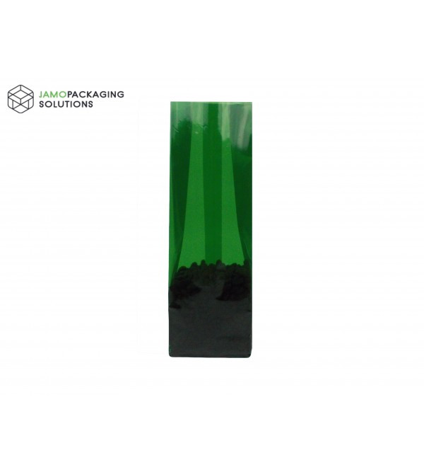 Green Side Gusset with Block Bottom Pouch, Recyclable