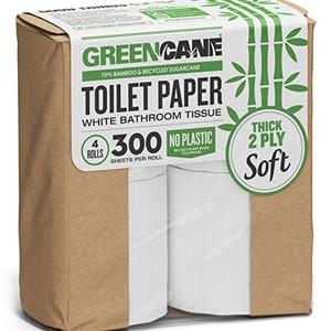 GreenCane 4-Pack Toilet Paper